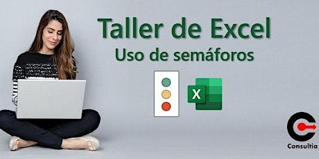 Uso de semáforos con Excel ingressos