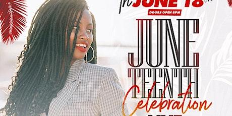 Juneteenth Celebration - Live Music, Reggae, Afrobeat | 6.18 tickets