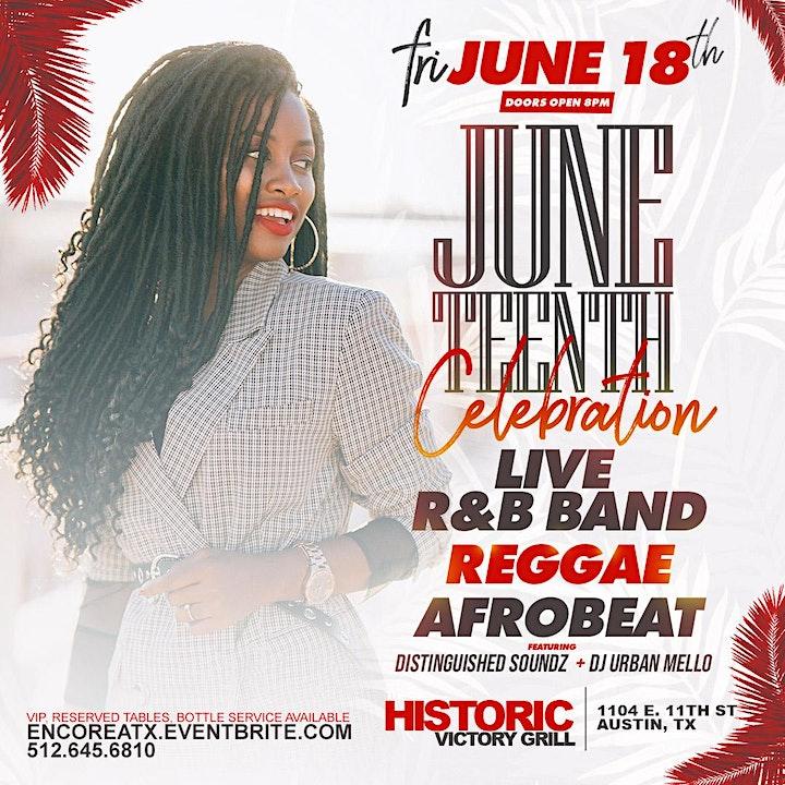 Juneteenth Celebration - Live Music, Reggae, Afrobeat   6.18 image
