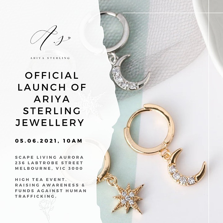 Ariya Sterling Launch & A21 Campaign Charity Fundraiser image