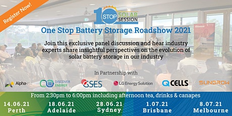 Perth - One Stop Battery Storage Roadshow tickets