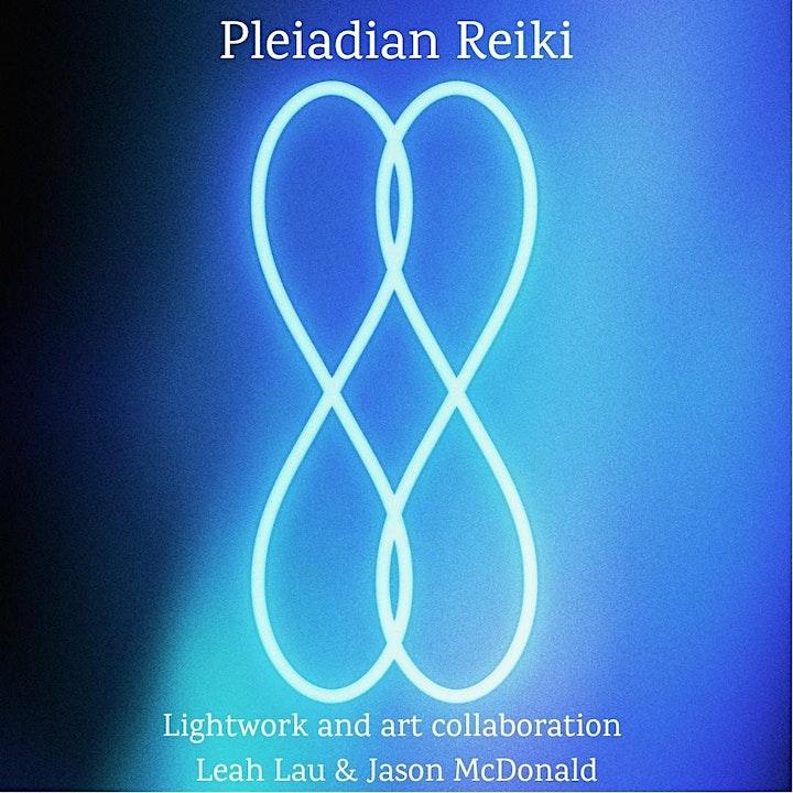 Pleiadian Reiki Training & Certification with Leah Lau image