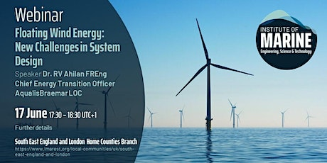 WEBINAR: Floating Wind Energy: New Challenges in System Design tickets
