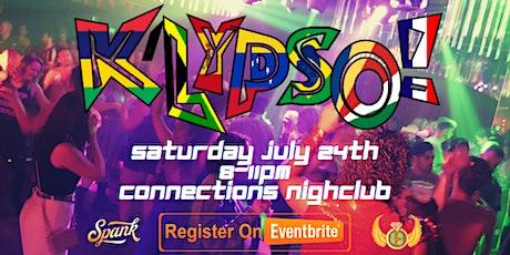 K'Lypso! Urban Fiesta at Connections Nightclub tickets