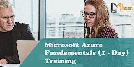 Microsoft Azure Fundamentals (1 - Day) 1DayVirtualTrainingin Providence, RI boletos