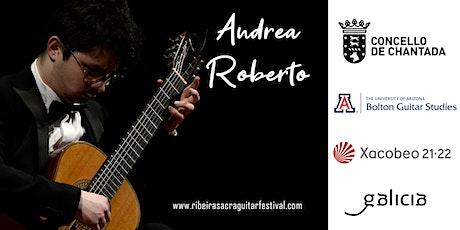 Concierto de ANDREA ROBERTO entradas