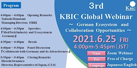3rd KBIC Global Webinar tickets