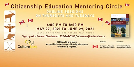 Online Canadian Citizenship Education Mentoring Circle tickets