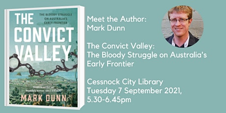 Meet the Author: Mark Dunn - The Convict Valley tickets