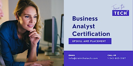 Business Analyst  Certification, Business Analyst Training Course tickets