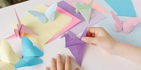 Origami for Beginners (for school years K-2) - IN PERSON tickets