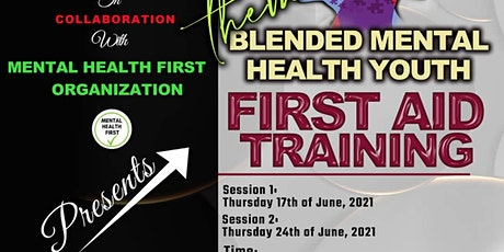 Blended Youth Mental Health First Aid tickets