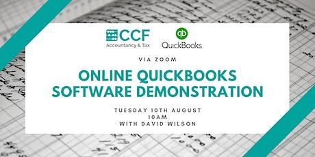Quickbooks Software Demonstration tickets