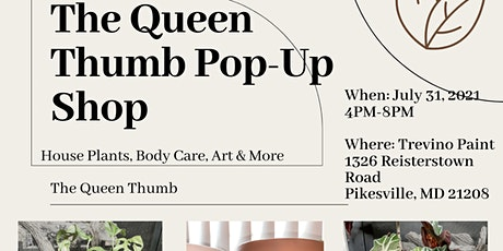 The Queen Thumb Pop-Up Shop tickets