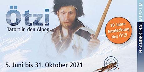 """""""Ötzi - eine wissenschaftliche Sensation"""" Live-Online-Führung (Erwachsene) tickets"""