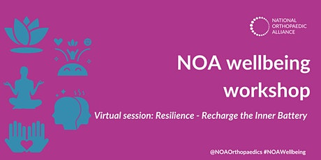 Wellbeing Workshop: Resilience- recharge the inner battery tickets