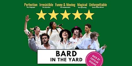 Bard in the Yard tickets