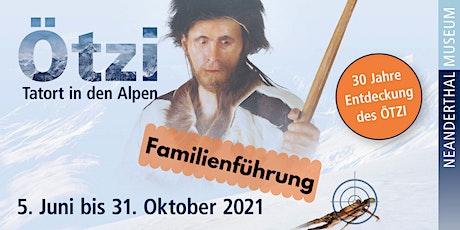 """Live-Online-Führung für Familien """"Ötzi für Kids"""" Tickets"""