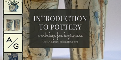 INTRODUCTION TO POTTERY tickets