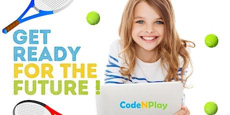 Stage d'été: codage & tennis - PAF: 50€ tickets