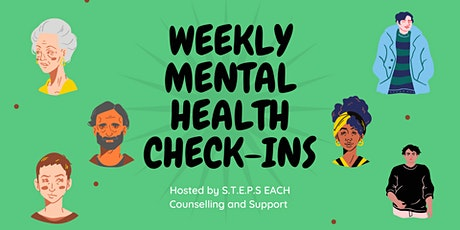 Ealing Weekly Mental Health Check-ins with S.T.E.P.S tickets