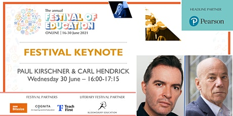 Festival of Education | Keynote -  Prof. Paul Kirschner & Dr Carl Hendrick ingressos