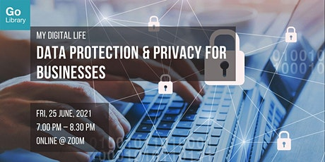 Data Protection & Privacy for Businesses | My Digital Life tickets