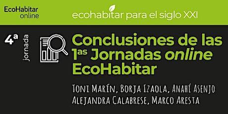 Conclusiones a las 1as Jornadas online EcoHabitar entradas
