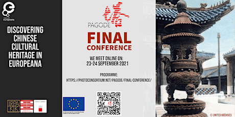 PAGODE FINAL CONFERENCE: Discovering Chinese Cultural Heritage in Europeana tickets