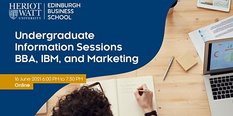 Undergraduate Information Sessions - Edinburgh Business School tickets