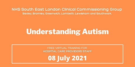 SEL Learning Disability and Autism Programme: Understanding Autism Training tickets