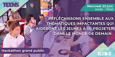 Hackathon grand public - Mercredi 23 juin billets