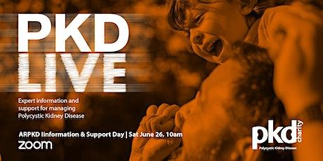PKD LIVE - ARPKD Information & Support Day tickets
