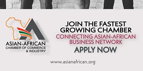 Asian -African Chamber  of Commerce - USA Chapter Meeting tickets