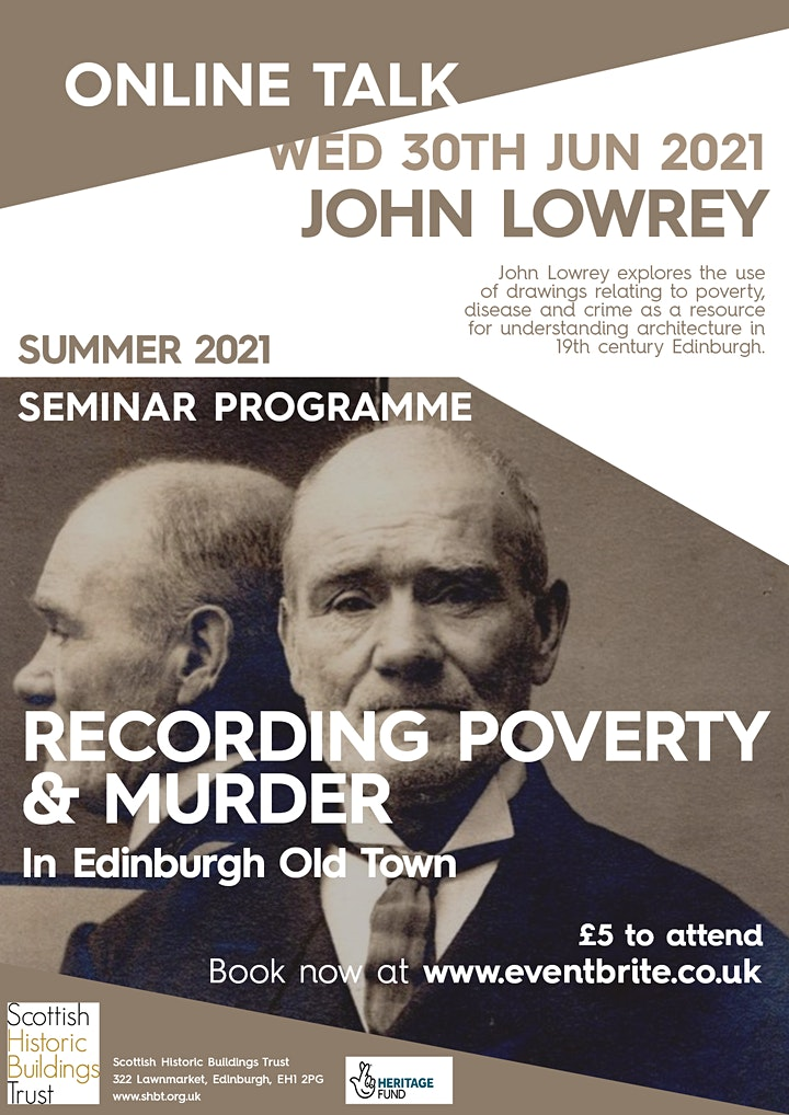 Recording Poverty & Murder in Edinburgh Old Town image