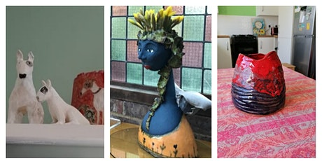 2-5pm Clay Ceramic & Sculpture workshop for all abilities tickets