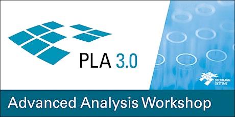 PLA 3.0 Advanced Analysis Workshop, virtual (Aug 26, The Americas) tickets