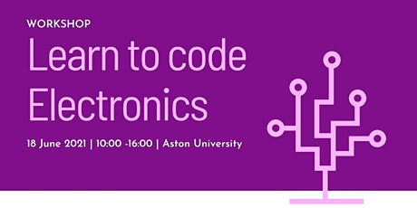 Learn to code Electronics tickets