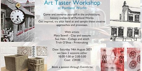 Art Taster Workshop at Portland Works tickets