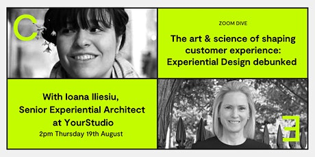 Art & science of shaping customer experience: Experiential Design debunked tickets