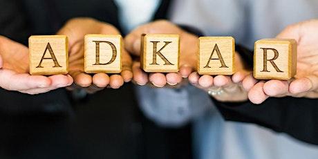 Webinar: Introduction to change management & ADKAR tickets