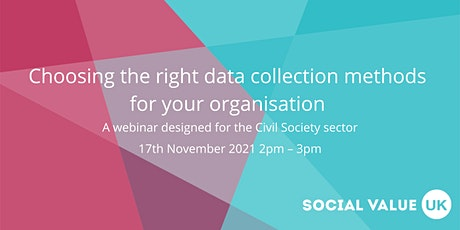 Choosing the right data collection methods for your organisation tickets