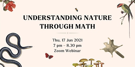 Understanding Nature Through Math | Human x Nature tickets