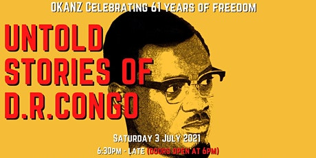 61st CONGOLESE INDEPENDENCE DAY CELEBRATION tickets