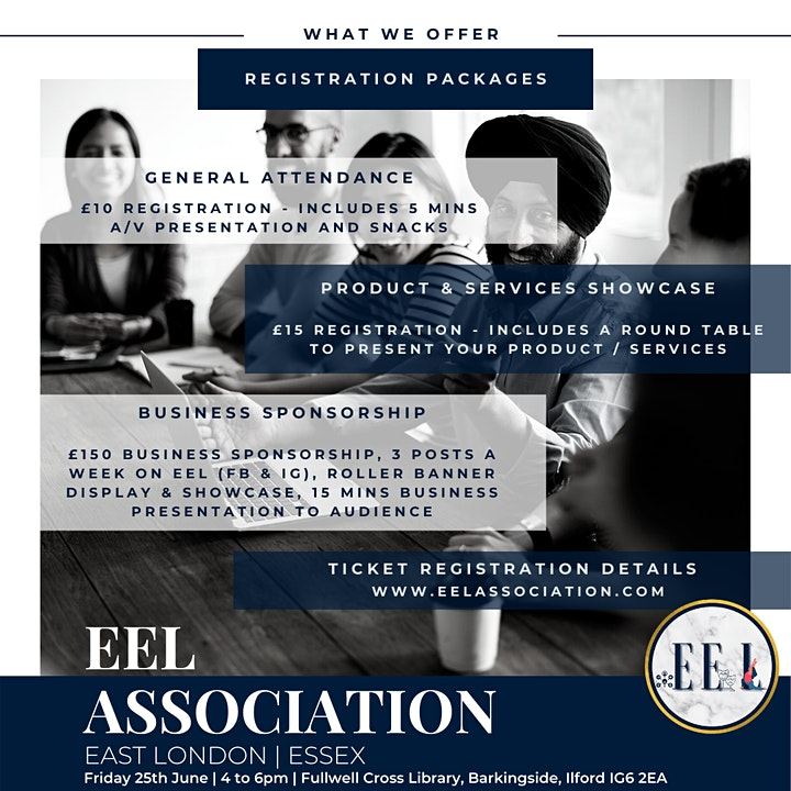 Essex and East London business networking image