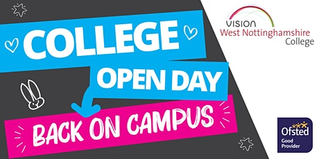 College Open Day - Back on Campus! tickets
