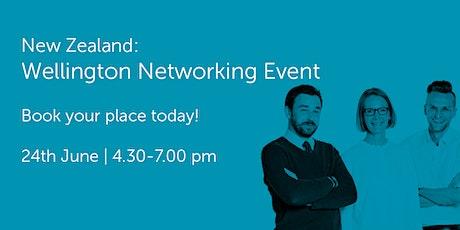 NZ240621: New Zealand: Wellington Networking Event tickets