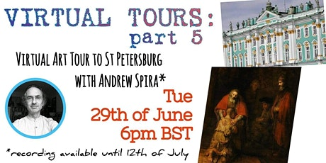 Virtual Tours: Art Tour to St Petersburg - Art Talk - Part 5 tickets