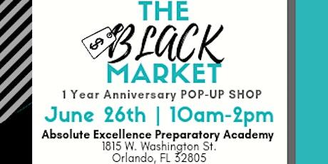 The BLACK Market Pop-up Shop tickets