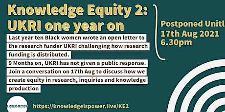 Knowledge Equity 2: Inclusive, Equitable, Accountable Change (2021) tickets